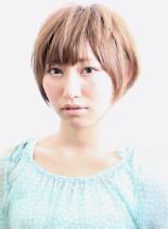サラサラショート(髪型ショートヘア)