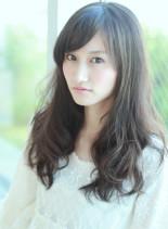 菜々緒さん風エレガントロング(髪型ロング)