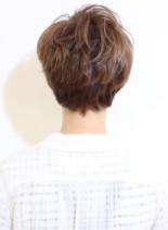 フレンチクール&キュートショート(髪型ショートヘア)