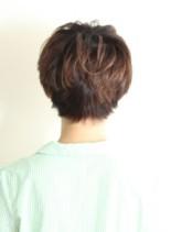 ナチュラルショートヘア(髪型ショートヘア)