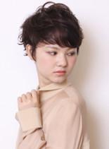 ヨーロピアンショート(髪型ショートヘア)