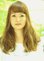 ゆるふわナチュラル(髪型ロング)