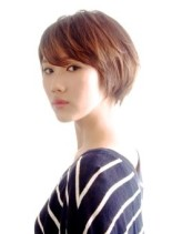 ☆大人のナチュラルショート☆(髪型ショートヘア)