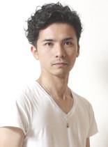 ヨーロピアンヌードウェーブ(髪型メンズ)