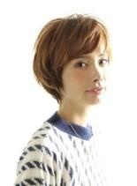 ナチュラルなかわいいショートスタイル(髪型ショートヘア)