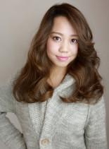 マージンミディアム(髪型ロング)