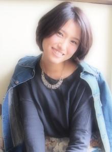 【外国人風ドライカット】黒髪ふわショート