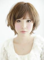 大人可愛い小顔ショート2013秋冬(髪型ショートヘア)
