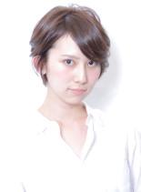 大人キレイな立体感ショート(髪型ショートヘア)