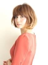 大人のかわいいボブスタイルヘア(髪型ボブ)