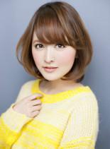 大人フェミニンボブ2014(髪型ボブ)