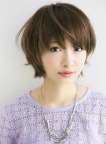 大人ラフ ナチュラルボブ2014(髪型ショートヘア)