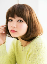 大人ナチュラルボブ2014(髪型ボブ)
