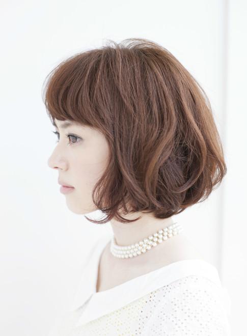 大人抜け感上品カジュアルボブ2014最新(ビューティーナビ)