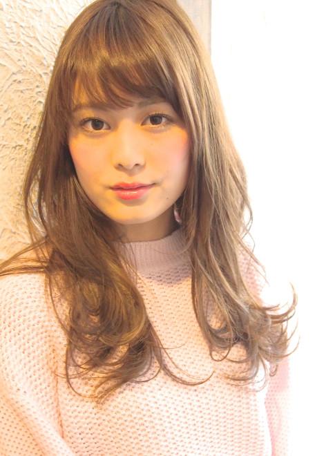 小顔カット☆やわらかロング(ビューティーナビ)