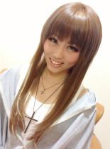 縮毛&カラー(髪型ロング)