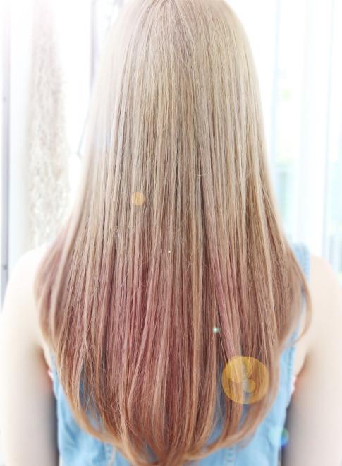 ピンクグラデーション☆☆(ビューティーナビ)