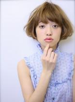 ミニマムショートボブスタイル(髪型ボブ)