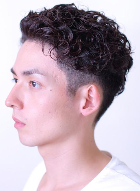 メンズ】ツーブロックパーマ/BRIDGEの髪型・ヘアスタイル・ヘア