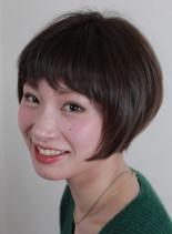 大人つやショート(髪型ショートヘア)
