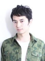 メンズ大人きれカジショート(髪型メンズ)