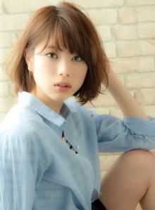 2014年大人気髪型!大人ヌーディーボブ(ビューティーナビ)