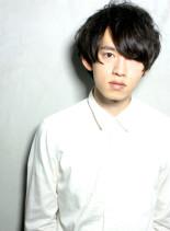 くせ毛風セクシーパーマ(髪型メンズ)