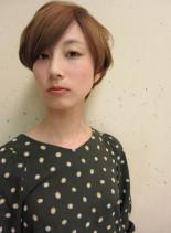 大人クールショートボブ(髪型ショートヘア)