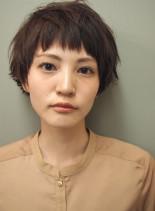 ショートマッシュボブ(髪型ショートヘア)