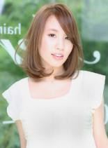 Aere☆ストレートミディ☆(髪型ミディアム)