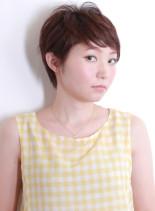 クリアショート(髪型ベリーショート)