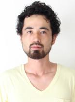 カーリーショート(髪型メンズ)