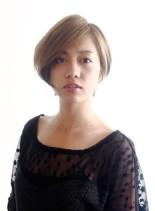 ☆シンプルショートボブ☆(髪型ショートヘア)