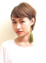 ☆大人耳かけショートボブ(髪型ショートヘア)