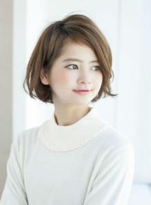 【國武さゆり】大人かわいいショートボブ(ビューティーナビ)