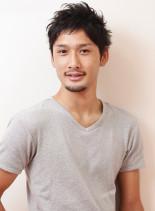 ショートレイヤー(髪型メンズ)