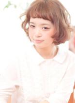 キュートボブ(髪型ボブ)