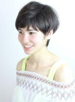 かわいい ショート(髪型ショートヘア)