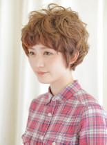 ふわふわ綿菓子マッシュ(髪型ショートヘア)