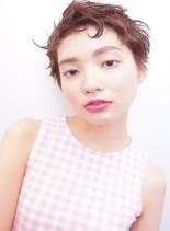 ベティ風 夏のショートヘアー(髪型ベリーショート)