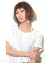 前髪がポイント☆外国人風ボブ(髪型ボブ)