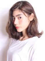☆外国人風ミディアムボブ(髪型ミディアム)