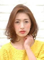☆おとな可愛い☆フェミニンカール☆(髪型ボブ)