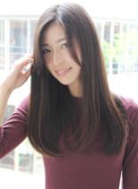 手ぐしで決まる重めロング☆(髪型ロング)