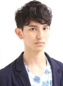 すっきり黒髪刈り上げメンズスタイル!!