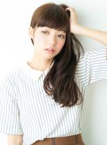 アッシュ系ダークカラー☆リラックスロング(髪型ロング)