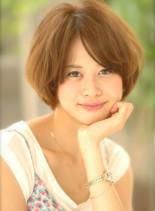 ☆ ふんわり ☆ マッシュボブ ☆ (髪型ショートヘア)