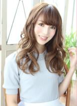 大人可愛いロングで憧れパーマ☆(髪型ロング)