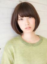 似合わせツヤ髪ショートボブ(髪型ボブ)