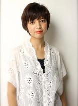 マニマムショート(髪型ショートヘア)